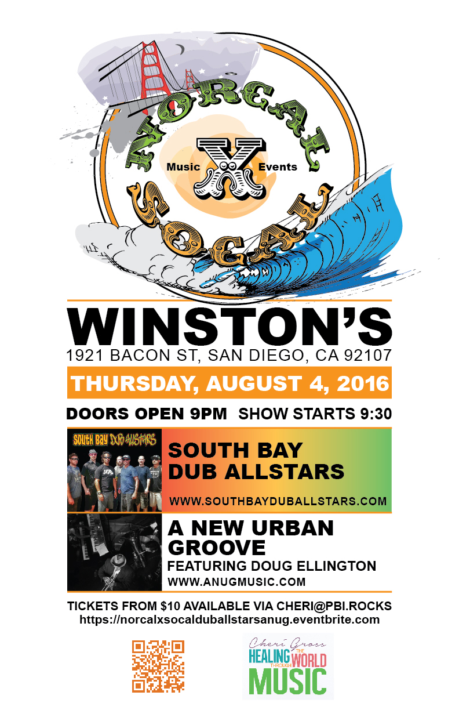 Winstons New Urban Groove & Dub Allstars