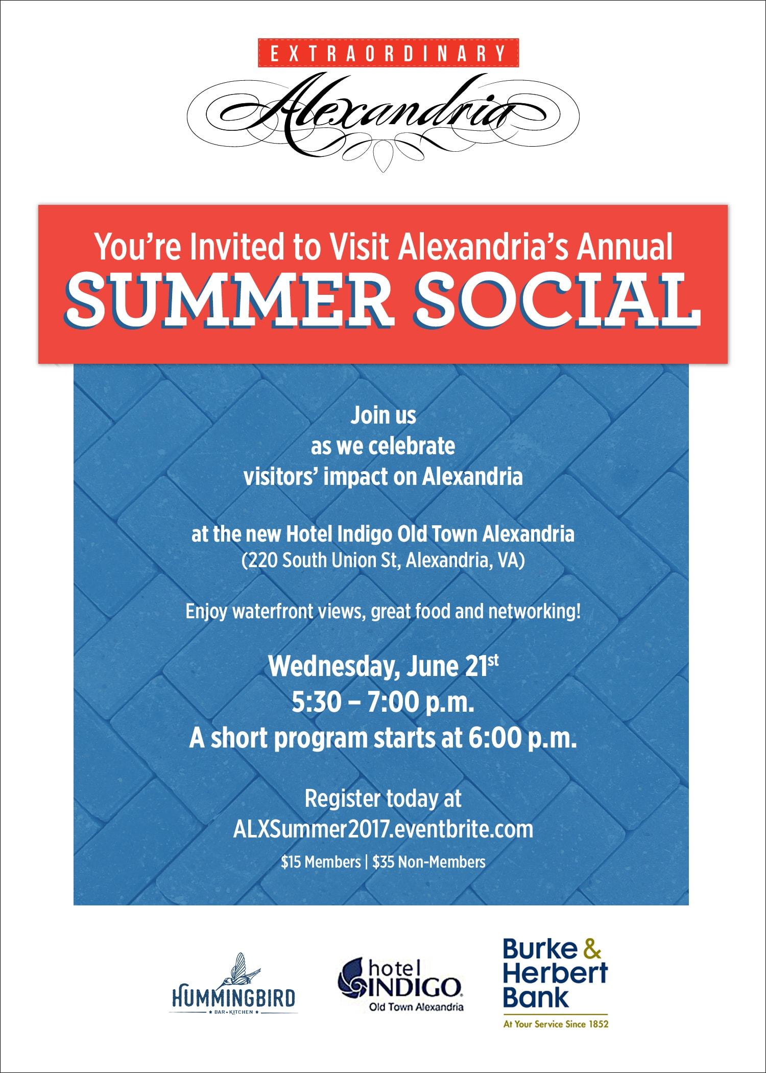 Summer Social Invitation