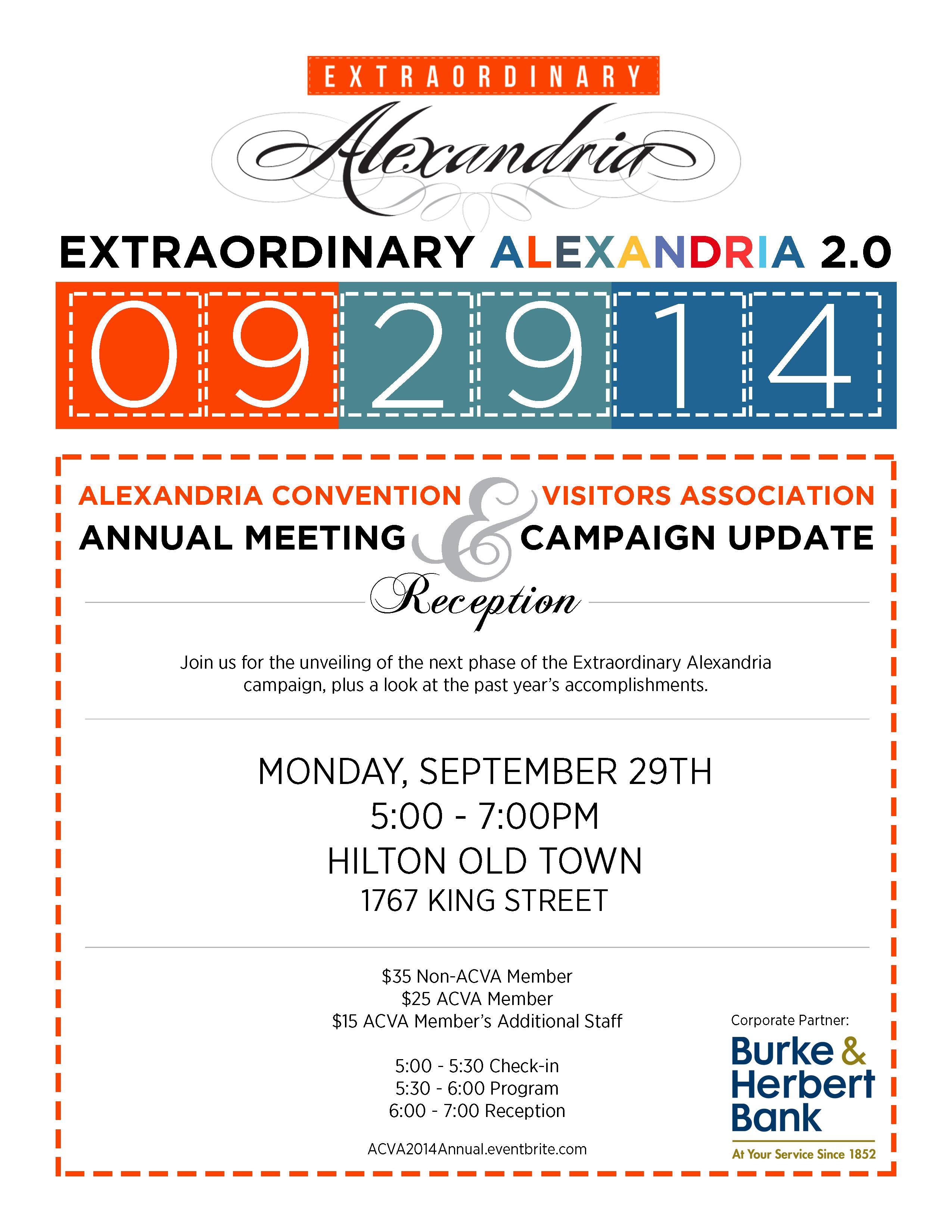 Annual meeting invite