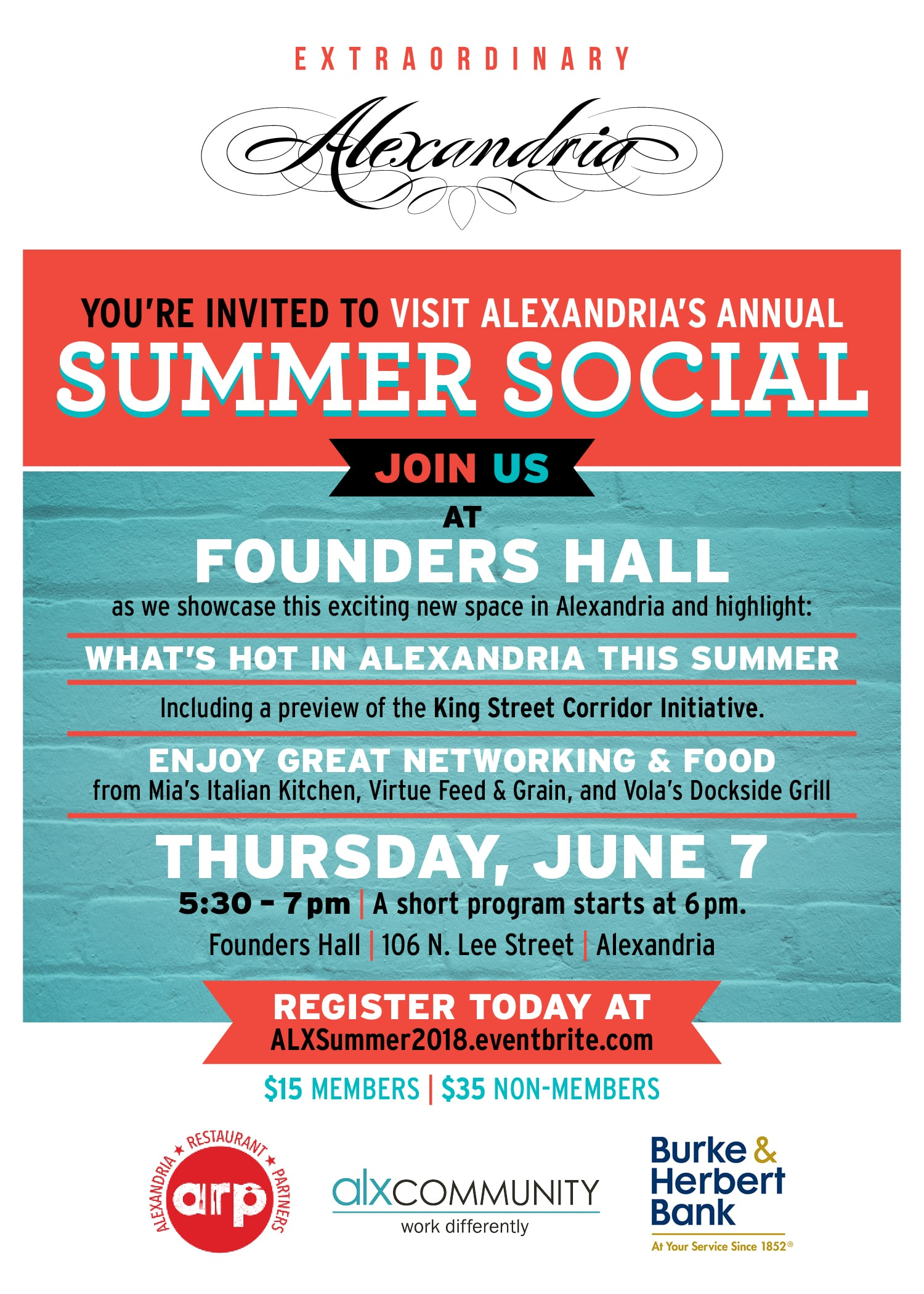 Summer Social Invitation