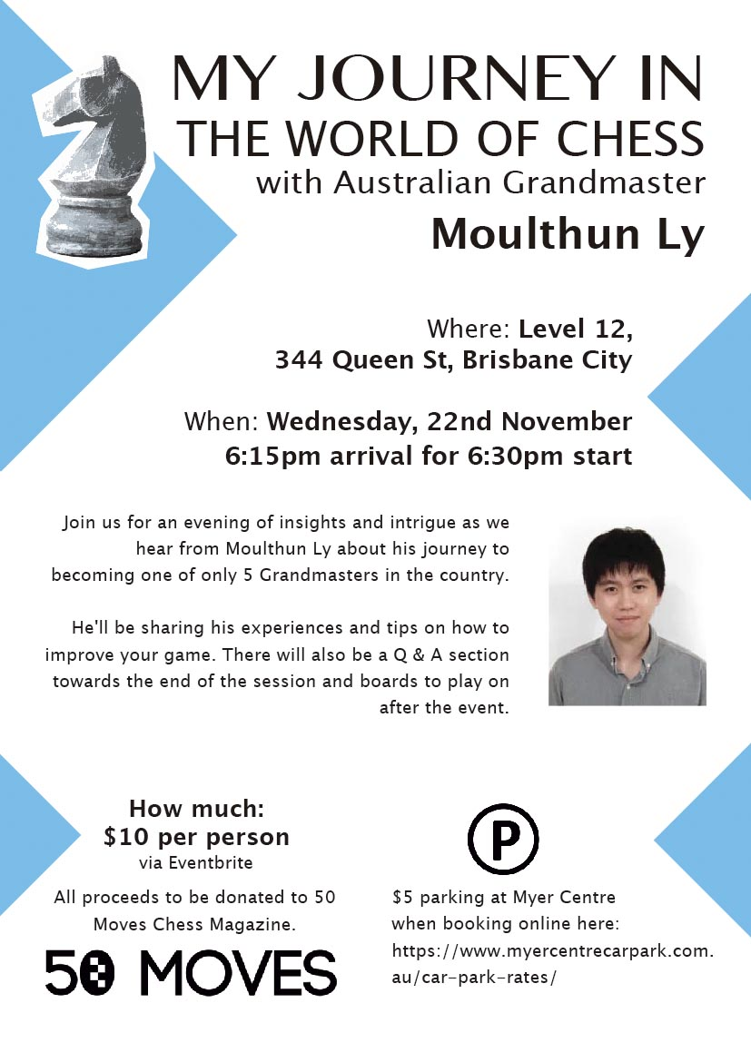An evening with Grandmaster Moulthun Ly
