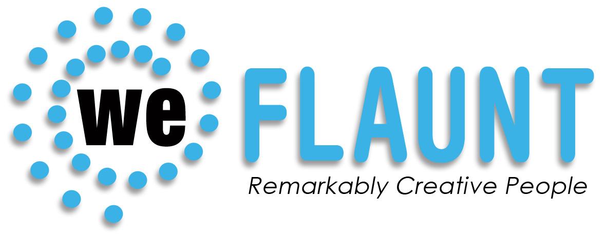 We Flaunt logo