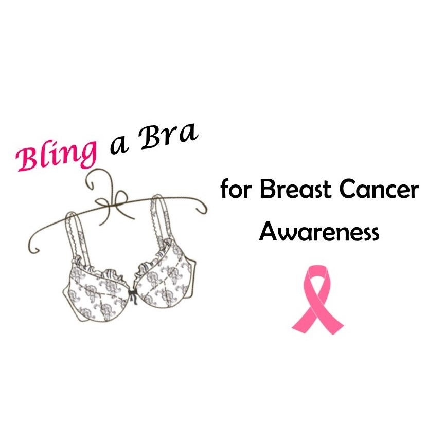 Bling a Bra for Breast Cancer Awareness