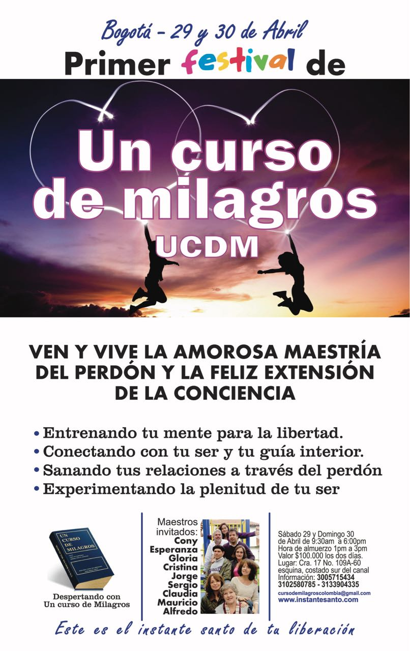 Festival de Un Curso de Milagros Colombia