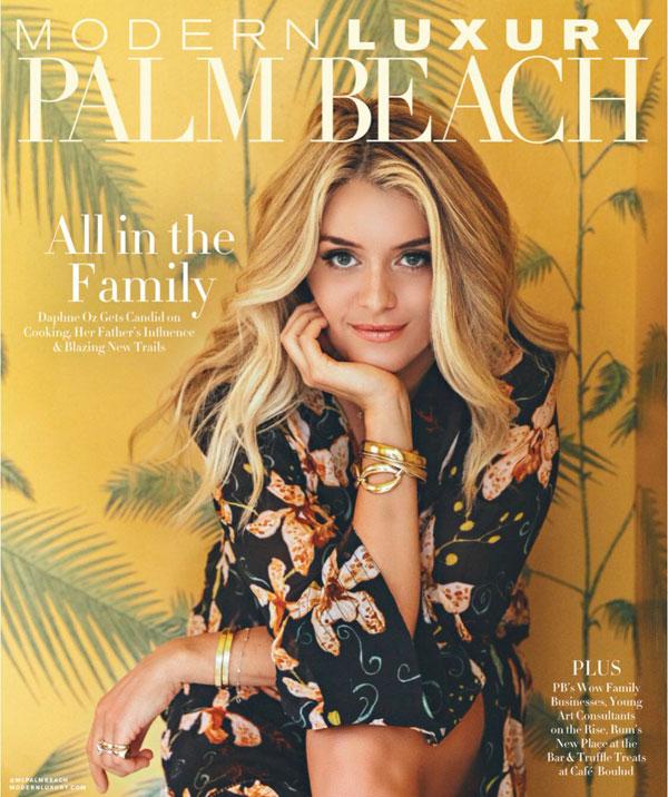 Daphne Oz Modern Luxury Magazine