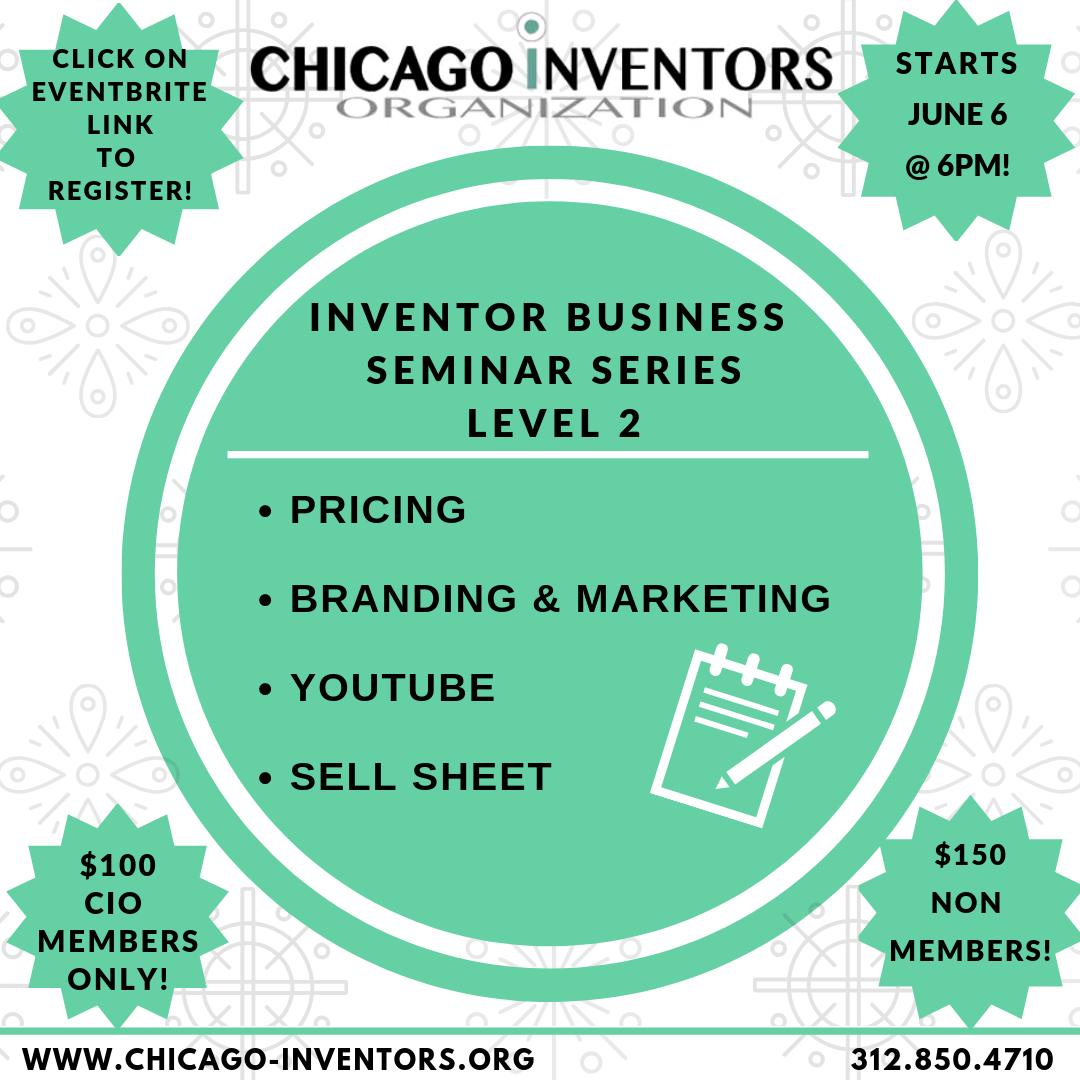 CIO Inventor Business Seminar Series - Level 2