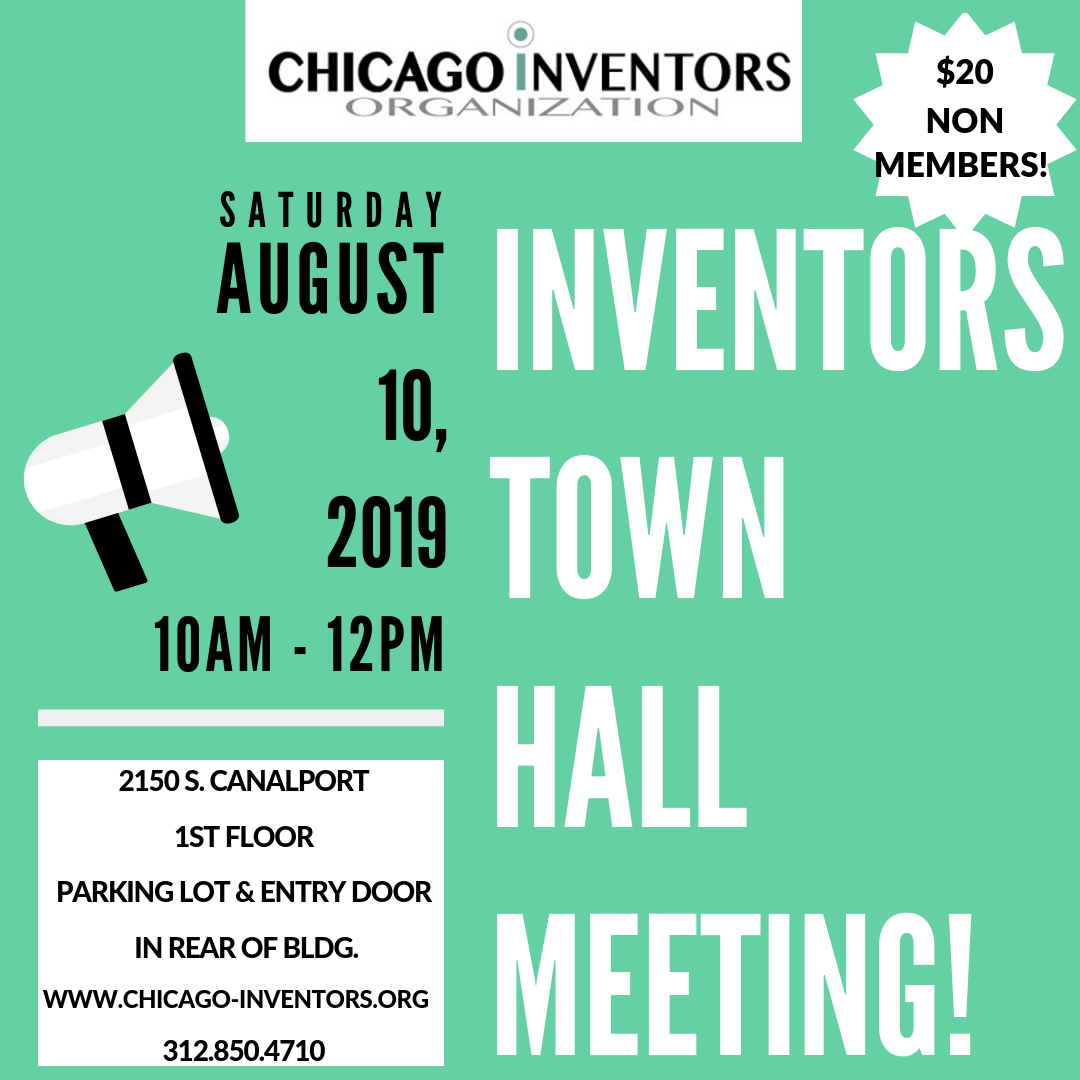 CIO AUGUST 2019 INVENTOR MEETING DETAILS