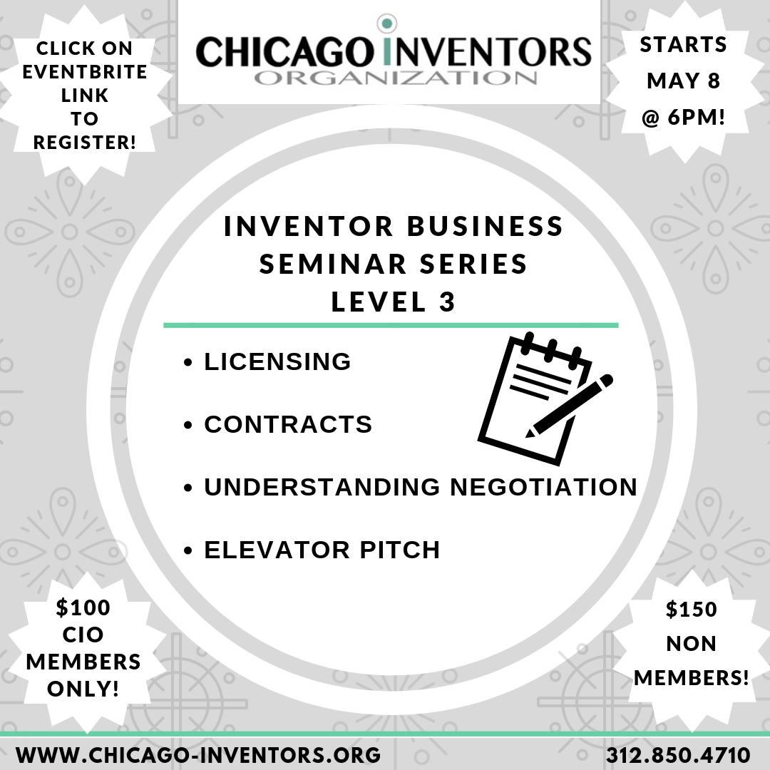 CIO Inventor Business Seminar Series - Level 3
