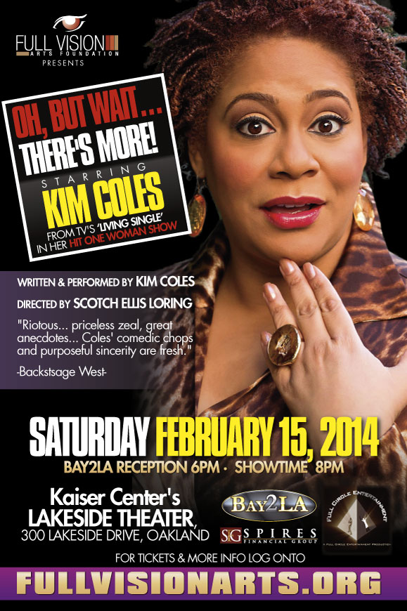 Kim Coles' Oh, But Wait... There's More!
