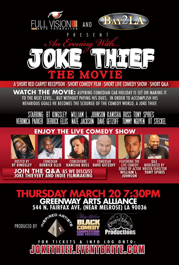 Joke Thief The Movie & Comedy Show