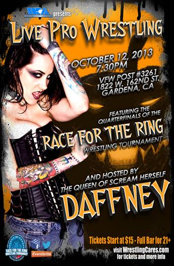 WCA Oct 12th Daffney Poster