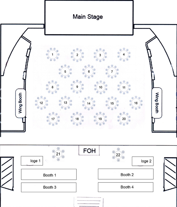Avalon Main Floor Seating