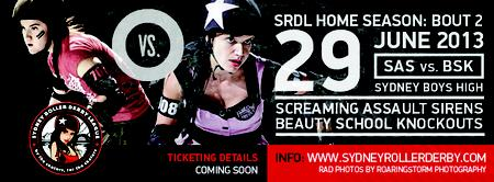 SRDL HOME SEASON: BOUT 2SAS vs. BSK