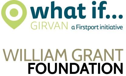 What if... Girvan logo William Grant foundation logo