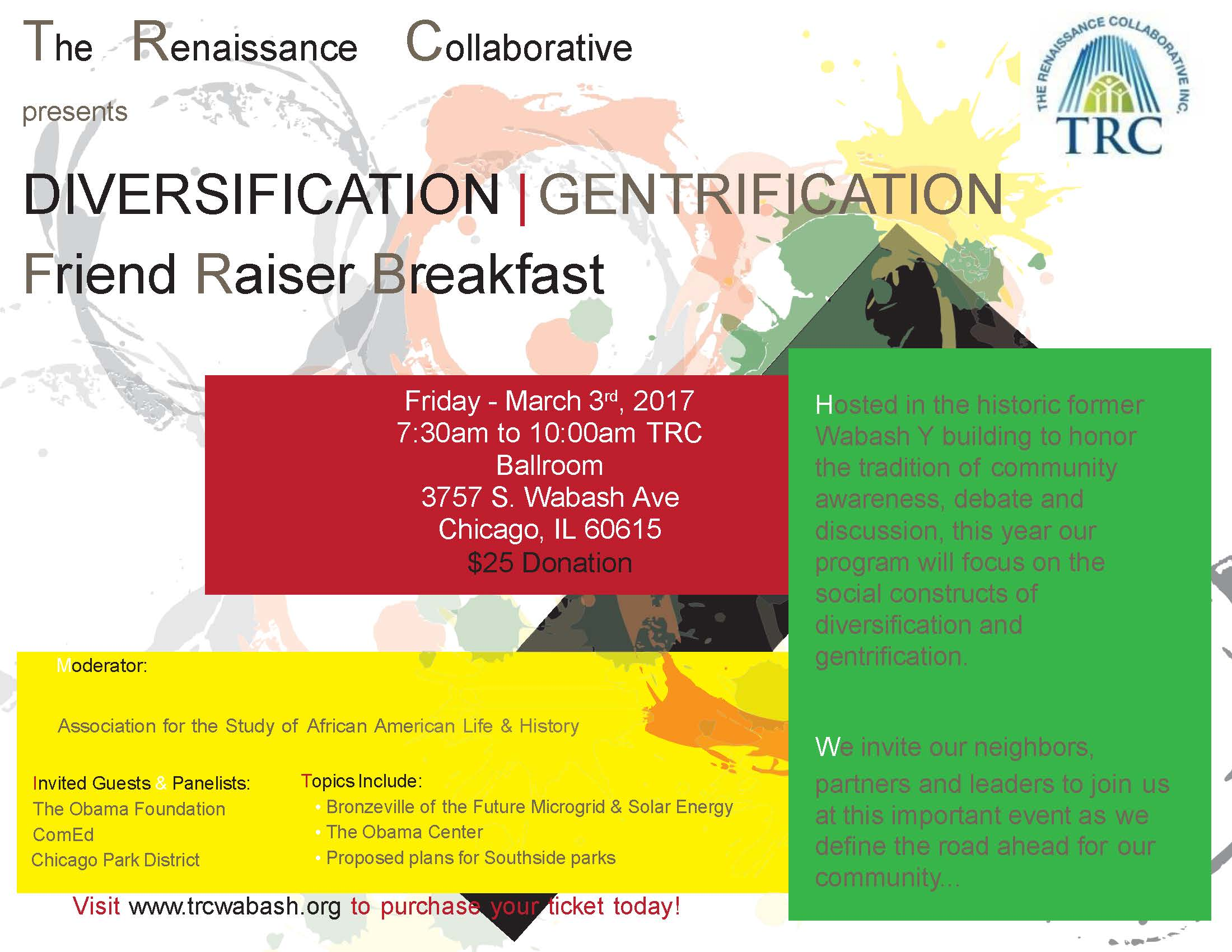 TRC Friend Raiser Breakfast