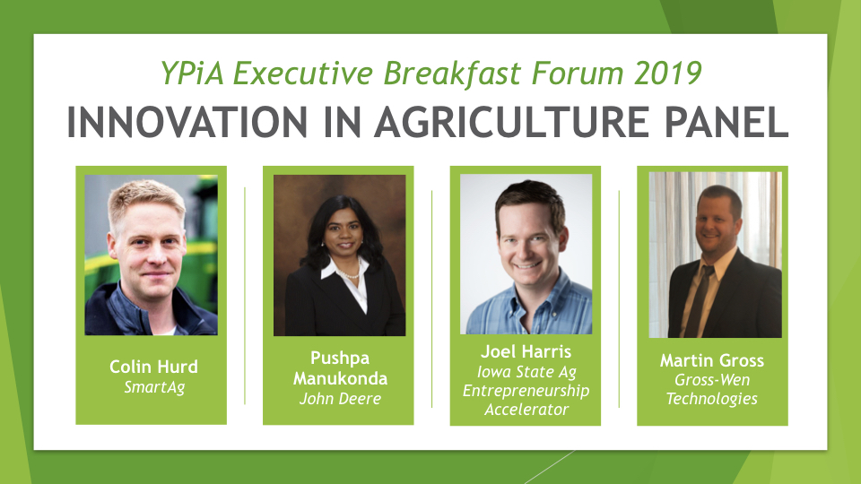 Innovation in Agriculture Panelists