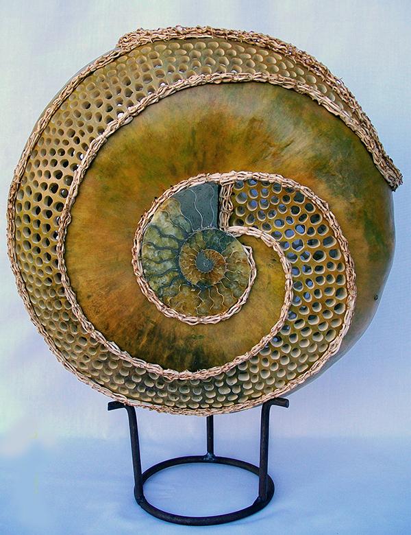 Gourd Art by Sue Brogdon