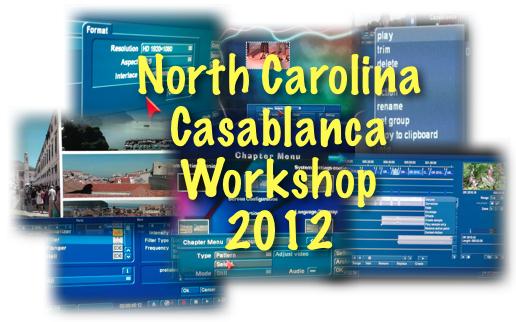 NC Casablanca Workshop 2012