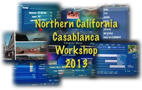 Casablanca Workshop SF Bay Area 2013