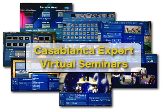 Casablanca Expert Virtual Seminars