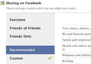 FB menu cu