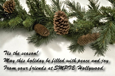 Happy Holiday from SMPTE Hollywood