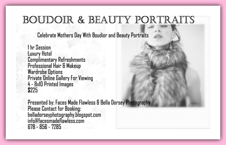 Boudoir and Beauty Portraits Package
