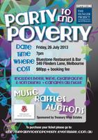 Party to End Poverty in support of The Hunger Project Australia,...