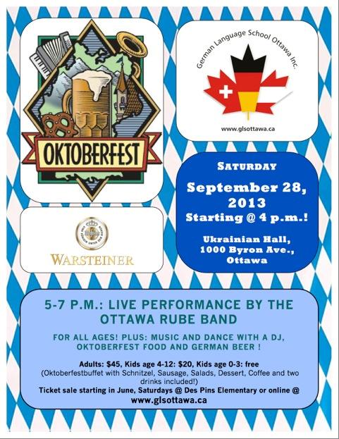 GLS Oktoberfest Engilsh Poster