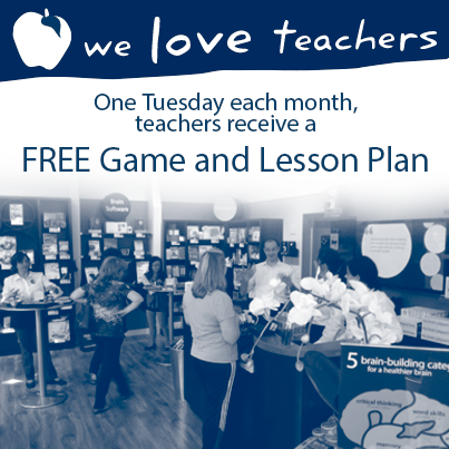 One Tuesday each month, teachers receive a FREE Game & Lesson Plan