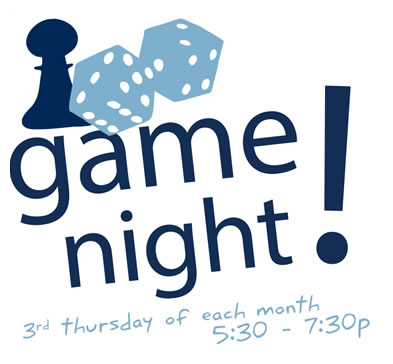 Marbles Game Night - the 3rd Thursday of each month