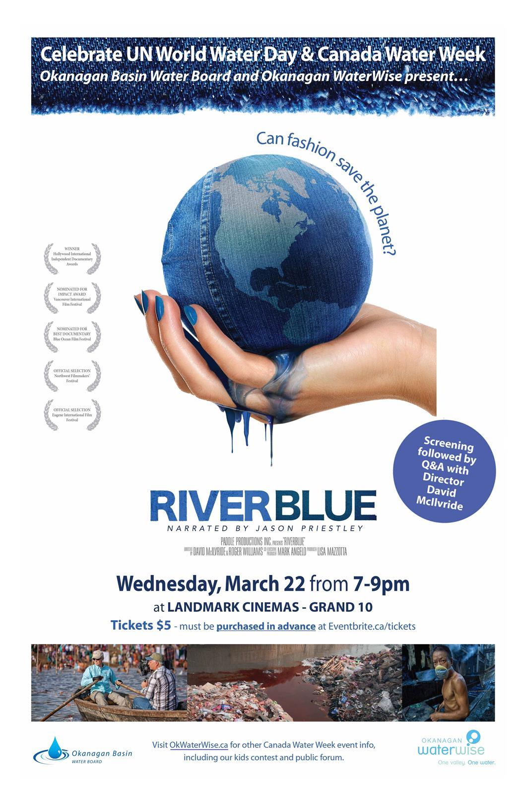 RiverBlue 2017 Poster