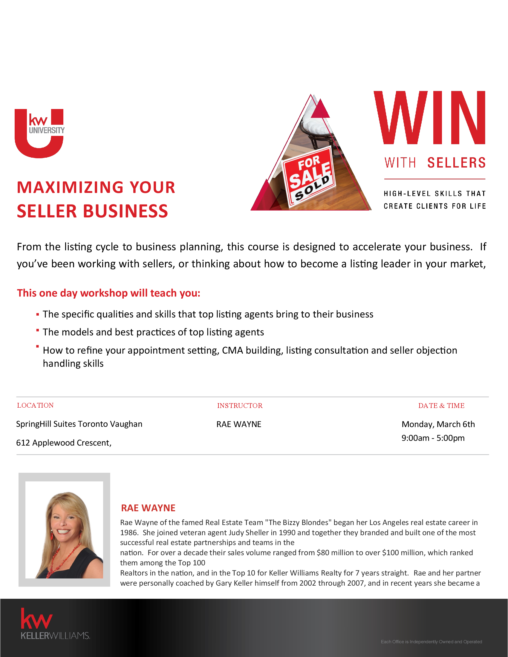 Win with Sellers