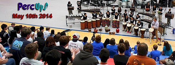 World Percussion Performances with Brazilian and African Drumming at Perc Up!