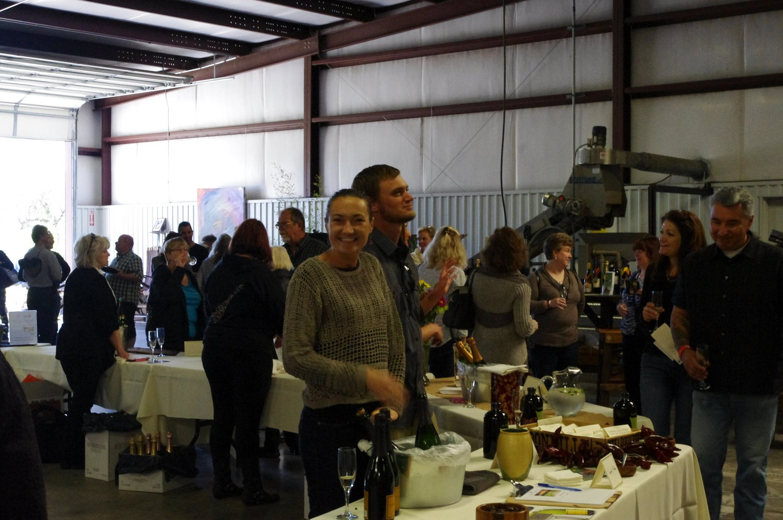 anderson valley's signal ridge vineyards at the mendocino sparkling wine festival