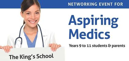 King's Networking Event for Aspiring Medics