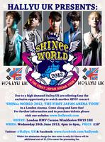 "Hallyu UK presents: THE FIRST JAPAN ARENA TOUR ""SHINee WORLD..."