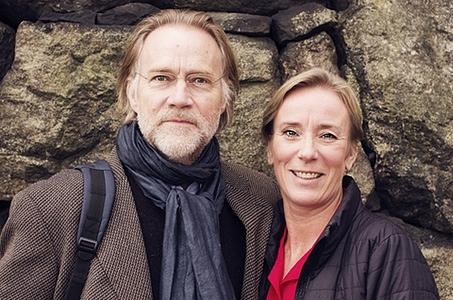 Niklas Falk och Cecilia Svensson