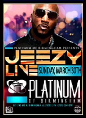 Jeezy Live at Platinum of Birmingham March 30 2014