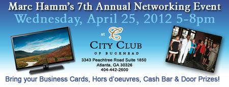 Marc Hamm's 7th Annual Networking Event
