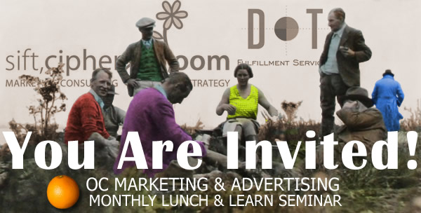 dot fulfillment - orange county marketing and advertising lunch & learn event