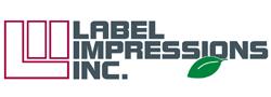 label impressions