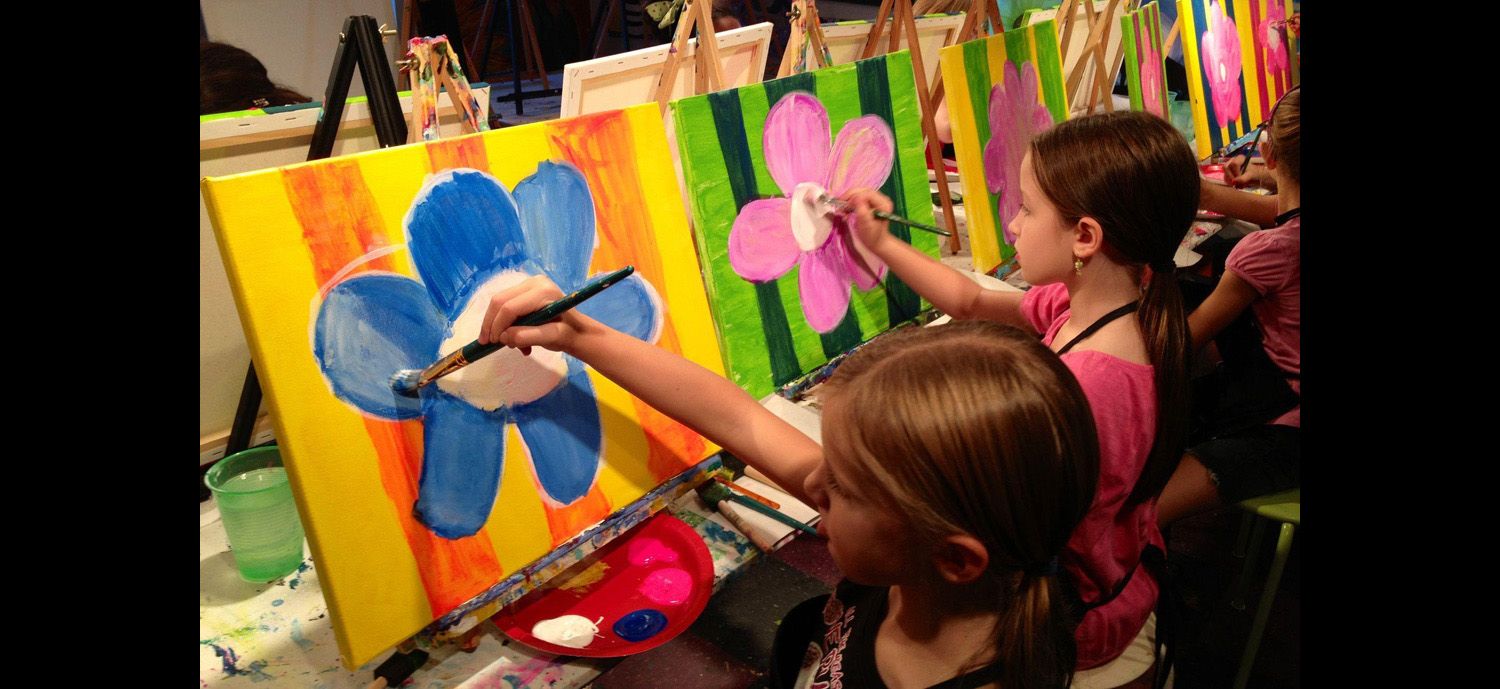 JuiceBox & Paint: A Kids Paint & Pizza Party Experience Tickets, Sun ...