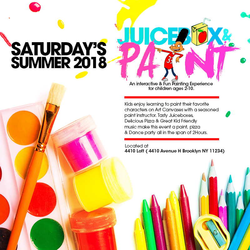 JuiceBox & Paint: A Kids Paint & Pizza Party Experience Tickets ...