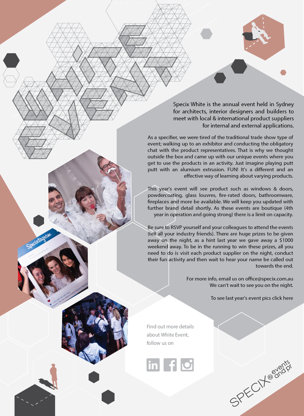 Specix White Event Is The Annual Architecture And Design Held Melbourne Sydney