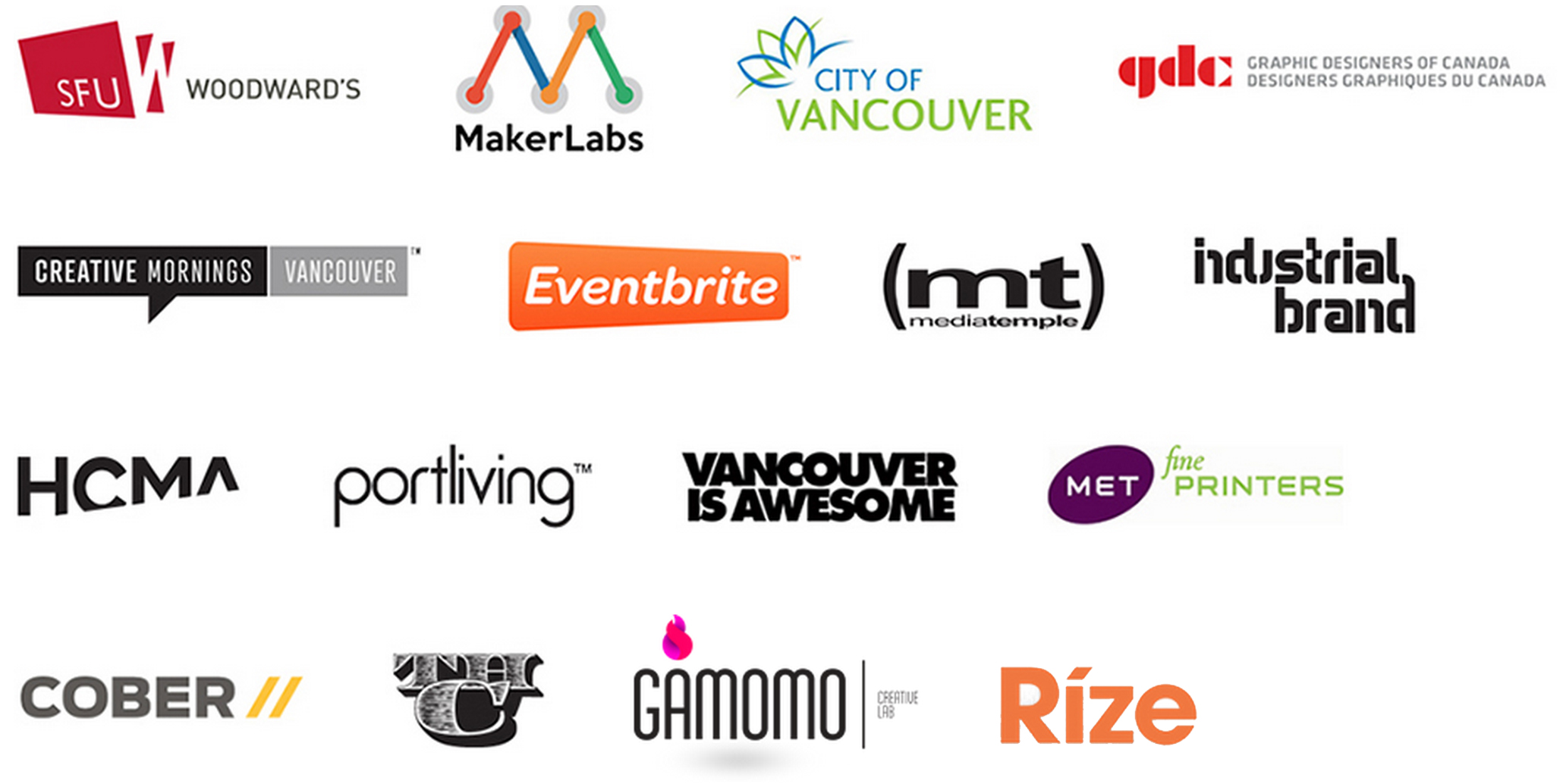 Interesting Vancouver 2014 Partners