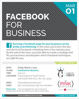 Facebook for Business Class