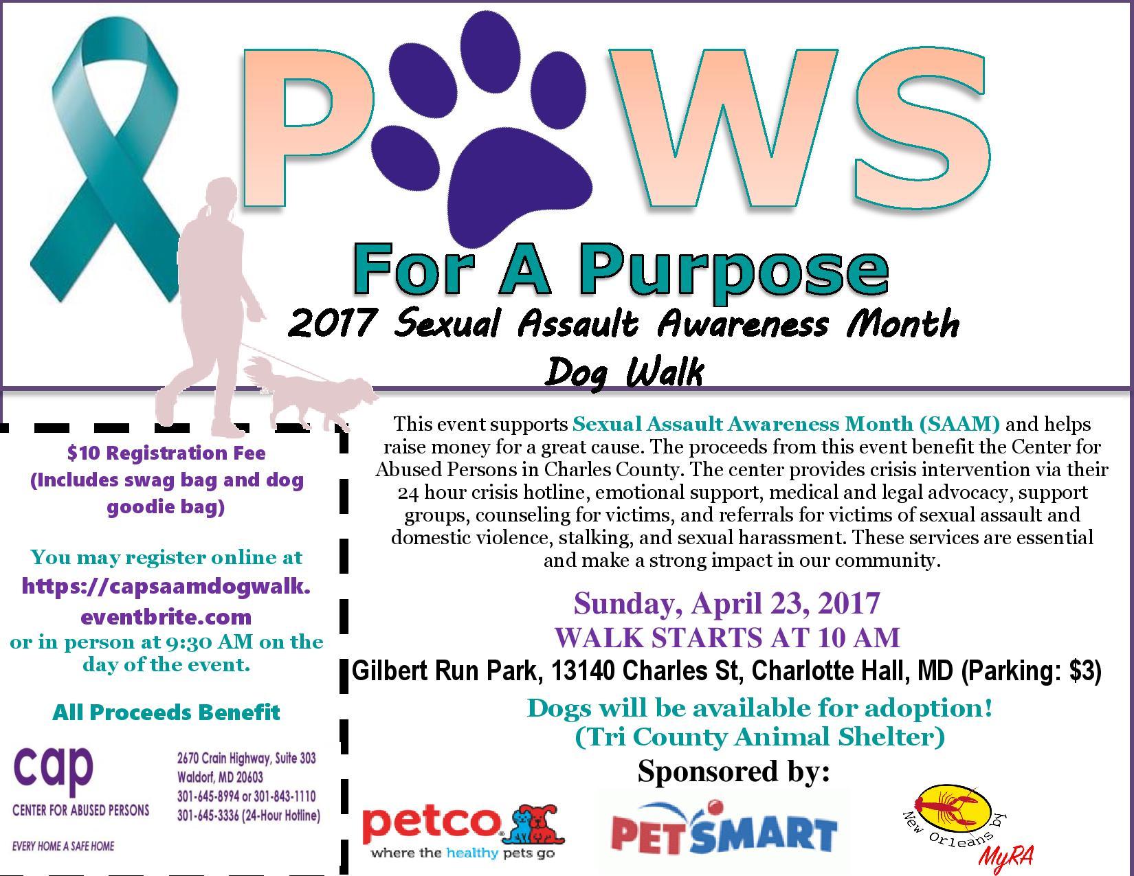 Dog Walk Event Information