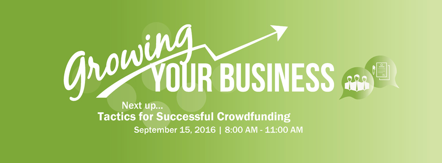 Growing Your Business- Tactics for Successful Crowdfunding @ Xerox Research Centre of Canada (Pake Auditorium)  | Mississauga | Ontario | Canada