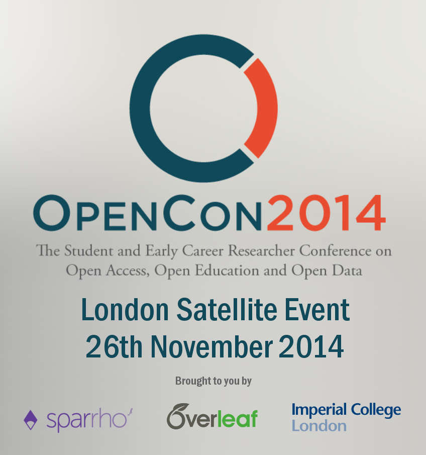 OpenCon 2014 London Event Logo